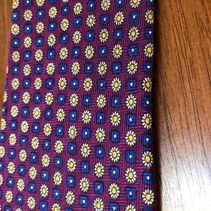 """Honors Accessories - Purple """"Daisy"""" Tie"""